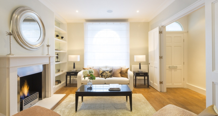 Fulham Road Chelsea Crestron Multi-Room Audio Crestron Lighting