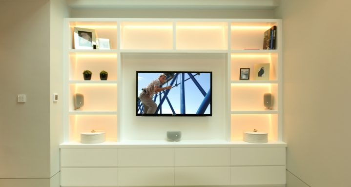Chelsea Home Cinema Fulham Road Media Room Crestron