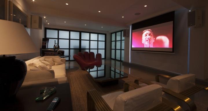 Crestron Home Cinema Holland Park Kensington Chelsea