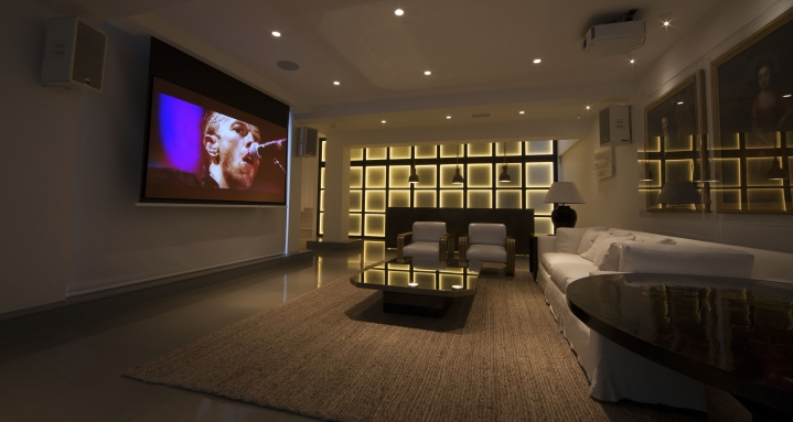 Crestron Home Cinema Holland Park Kensington Chelsea