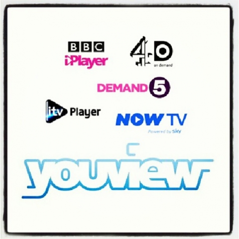 YouView Sky NowTV xbox iPlayer 4od itv player demand 5